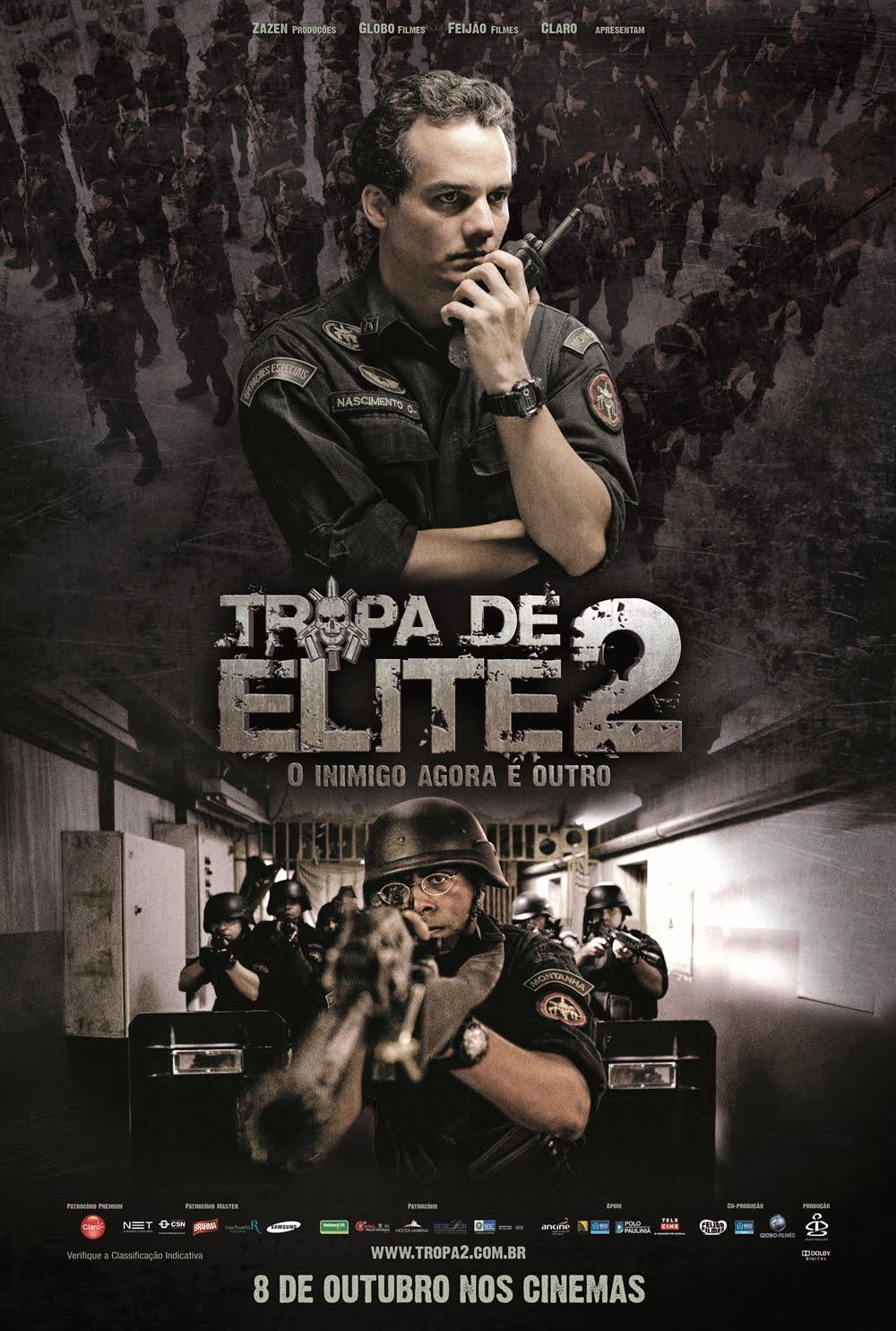 Tropa de Elite 2.- Subtitutos en Español.