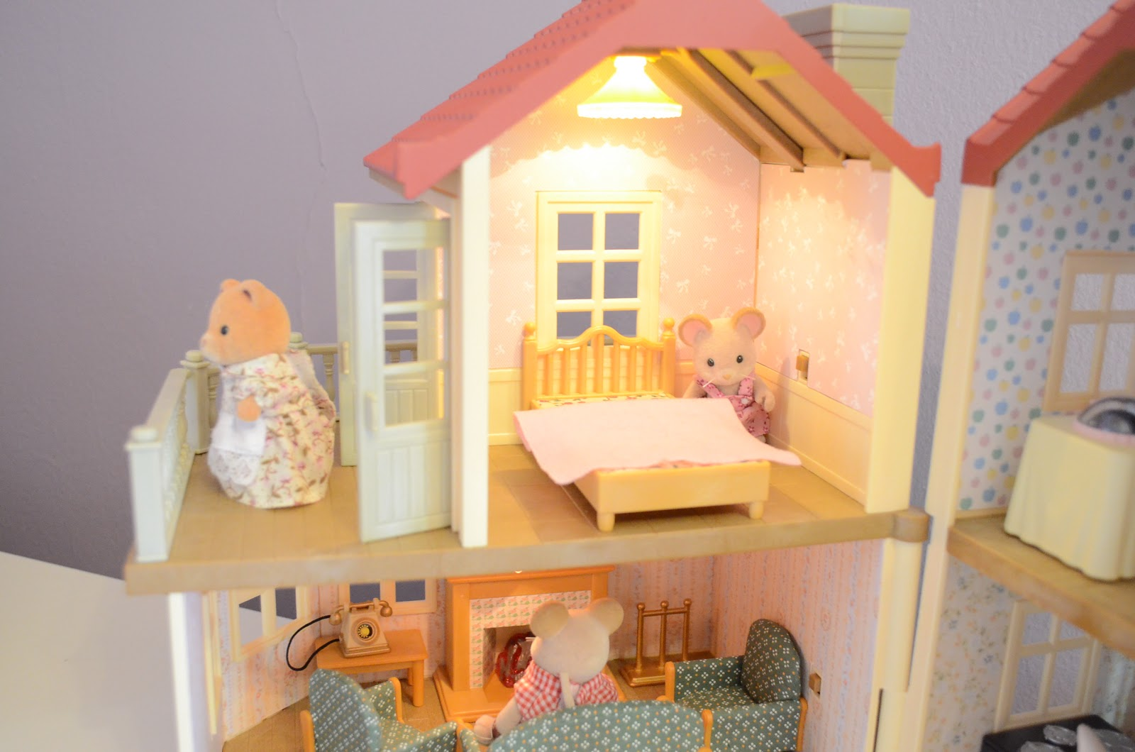 Wallpaper For Calico Critters Luxury Townhouse Joy