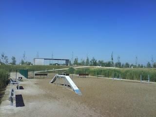 Zona de esparcimiento canino y Agility, Parque del Agua de Zaragoza