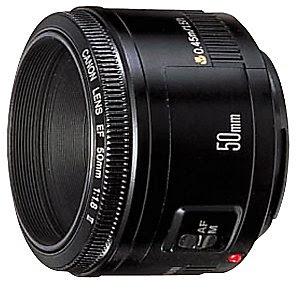 Lensa Canon EF 50mm f/1.8 II