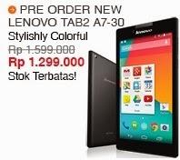 Lenovo Tab 2 A7-30 3G Tablet Murah Rp 1.299.000