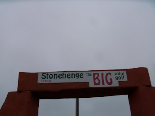 Hemsby Stonehenge BIG mini golf