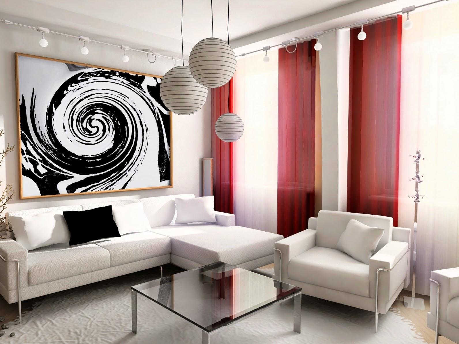 motif rouge noir blanc