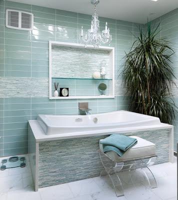 baño turquesa