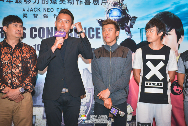 Actors personal sharing on The Lion Men 2