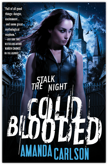 Cover Reveal: Cold Blooded by Amanda Carlson