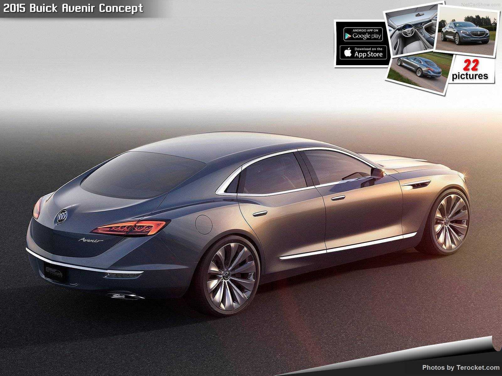Hình ảnh xe ô tô Buick Avenir Concept 2015 & nội ngoại thất