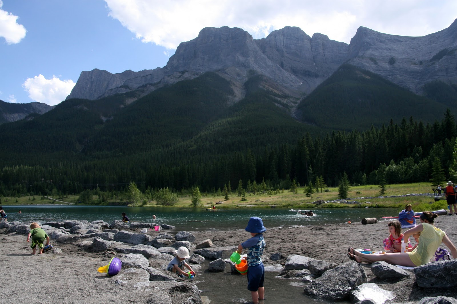 Family adventures in the canadian rockies best day trips for Quarry lakes fishing