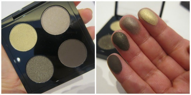 MAC A Novel Romance Eyeshadow Quad Swatches