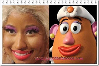 Nicki Minaj Miss Potato