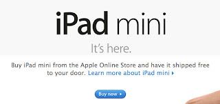 ipad mini its here