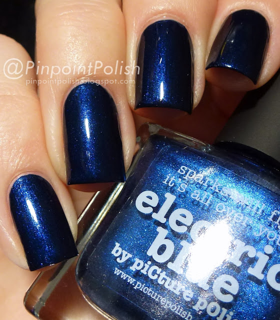 Electric Blue, picture polish, swatch