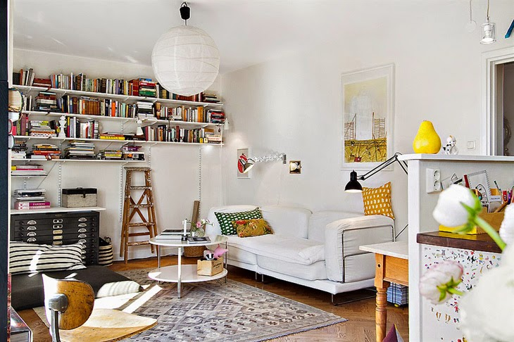 design attractor small and stylish bohemian apartment