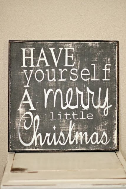 have yourself a merry little christmas quote