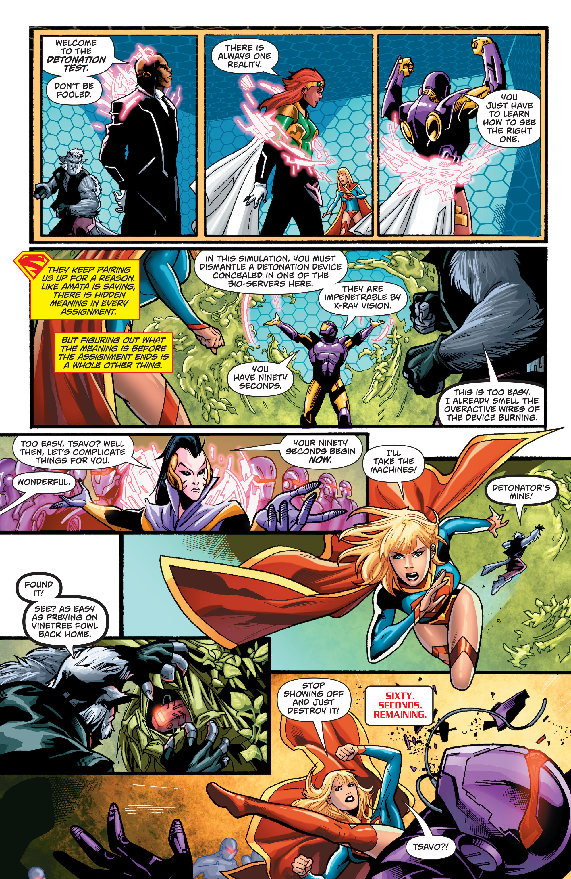 Supergirl (2011) Issue #37 #39 - English 9