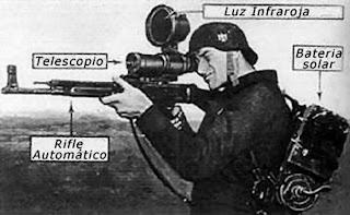 Francotirador con Arma Especial Infrarroja