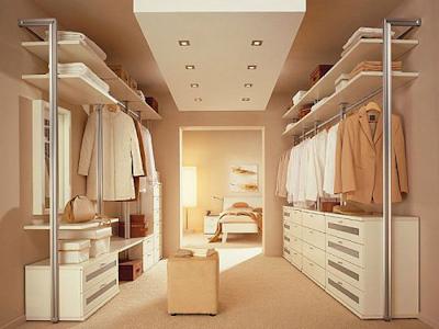 diseño walk-in closet dormitorio