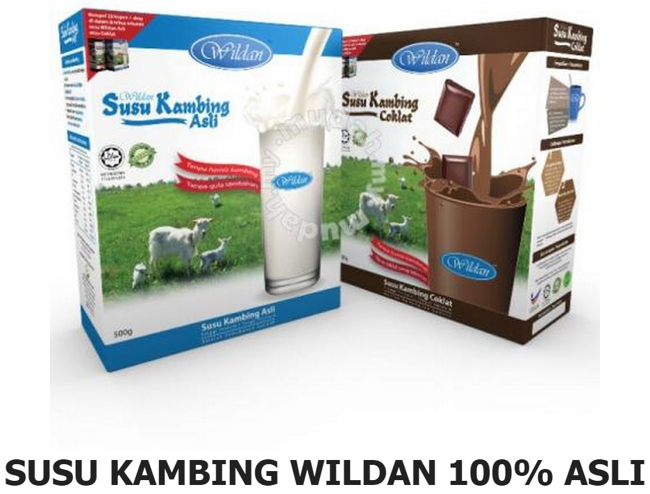 MOTHERS FIRST CHOICE: WILDAN SUSU KAMBING 100% ASLI