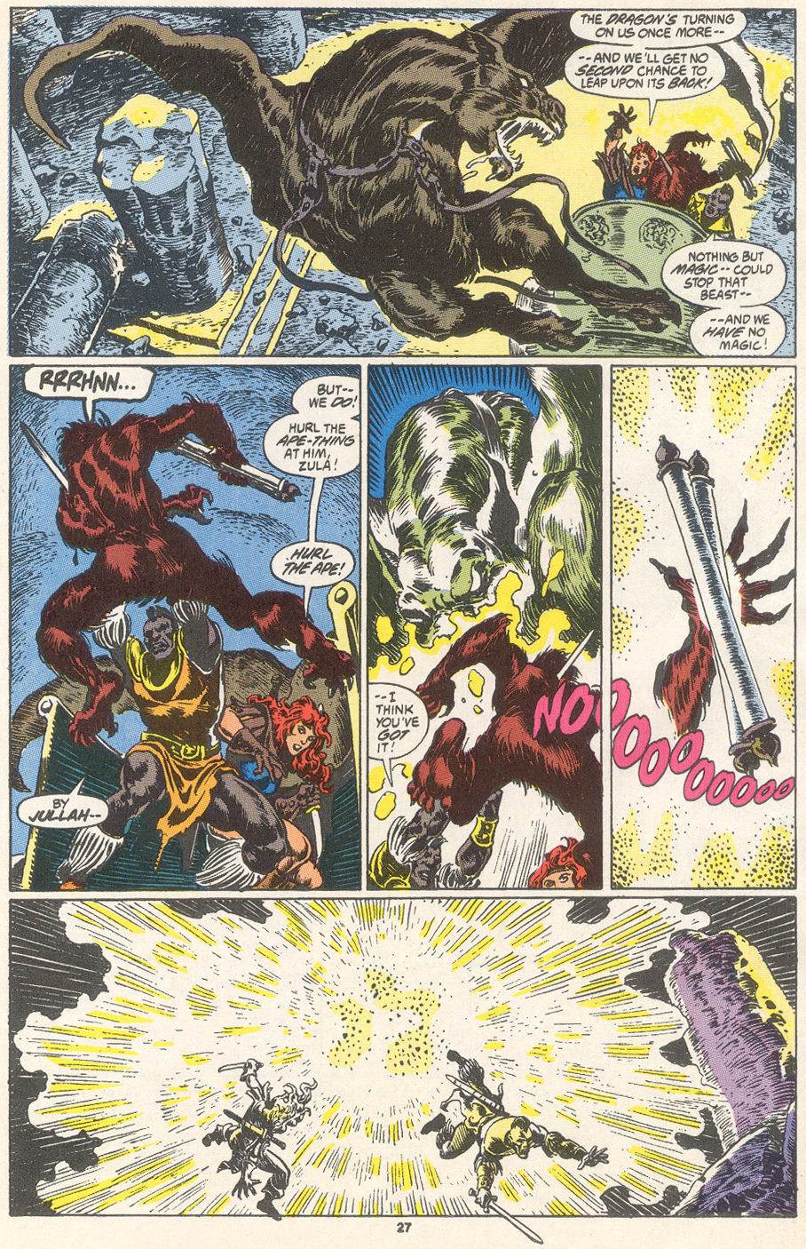 Conan the Barbarian (1970) Issue #249 #261 - English 21