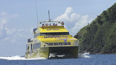 big yellow boat fiji
