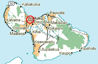 Wailuku Location Map