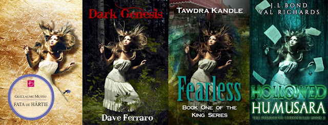 Fata de hârtie de Guillaume Mussp, Dark Genesis de Dave Ferraro, Fearless de Tawdra Kandle și Hollowed Humusara de J. L Bond