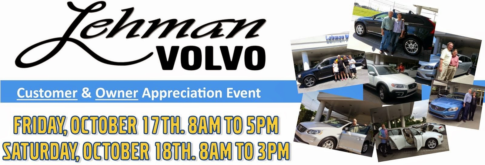 Lehman Motors Volvo Customer and Owner Appreciation Event
