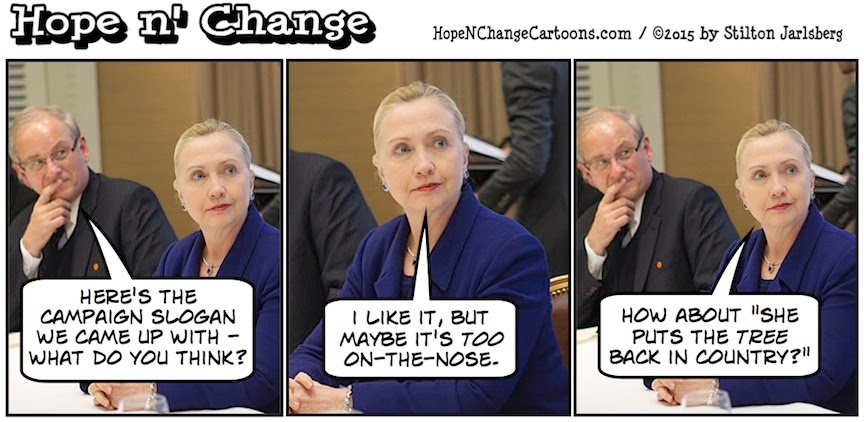 obama, obama jokes, political, humor, cartoon, conservative, hope n' change, hope and change, stilton jarlsberg, hillary, campaign, announcement, president