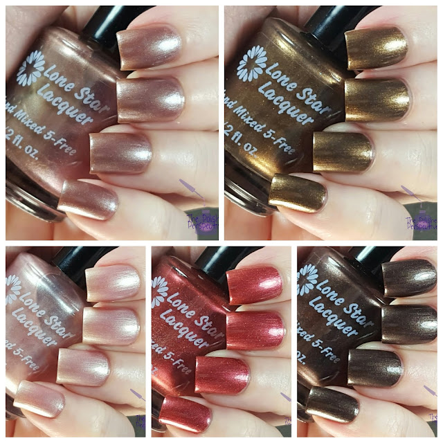 Lone Star Lacquer comfy cozy swatches