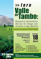 Foro: Valle de Tambo