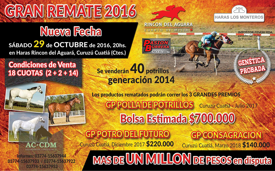 REMATE RDA - 2016