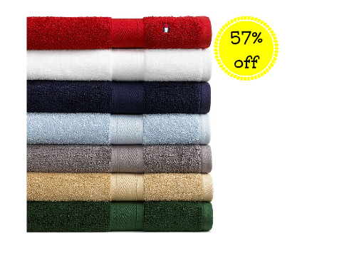 Coupon Stl Tommy Hilfiger All American Bath Towels