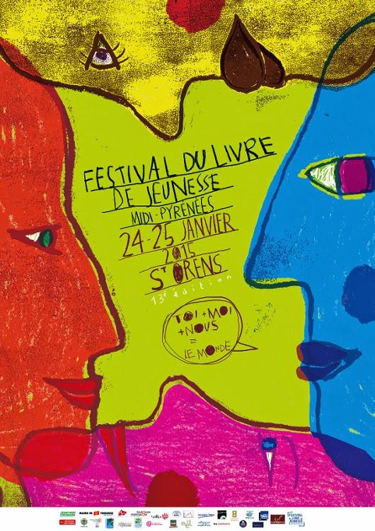 Festival du livre jeunesse midi-pyrénées : 24 et 25 janvier 2015 (+ d'infos)