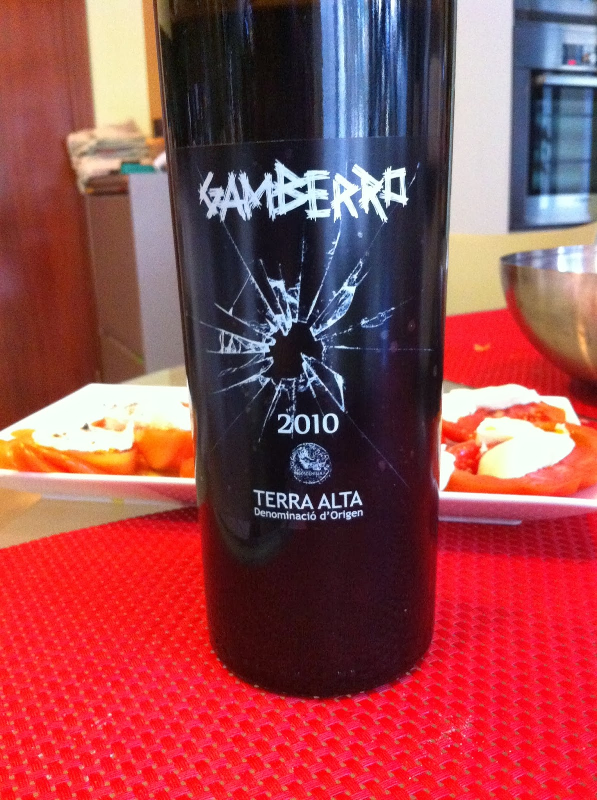 Gamberro Tinto de Guarda 2010. DO Terra Alta