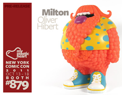 Milton Vinyl Figure by Oliver Hibert
