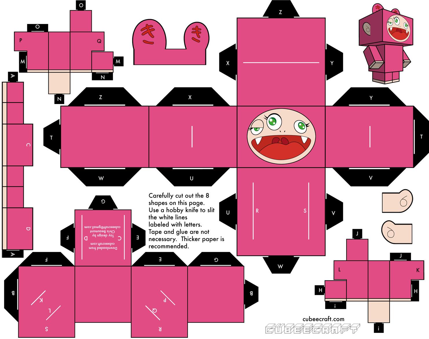 Favoritos Casinha de Criança: Brinquedos de Papel em 3D Para Imprimir e  CZ46
