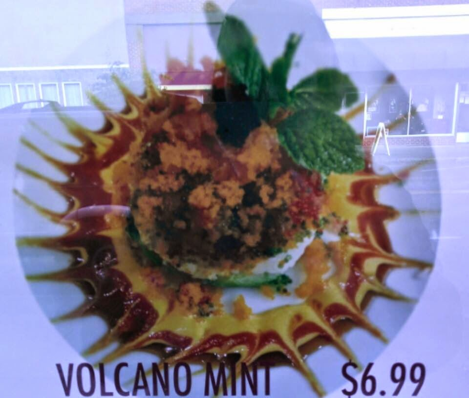 Volcano Mint Plate
