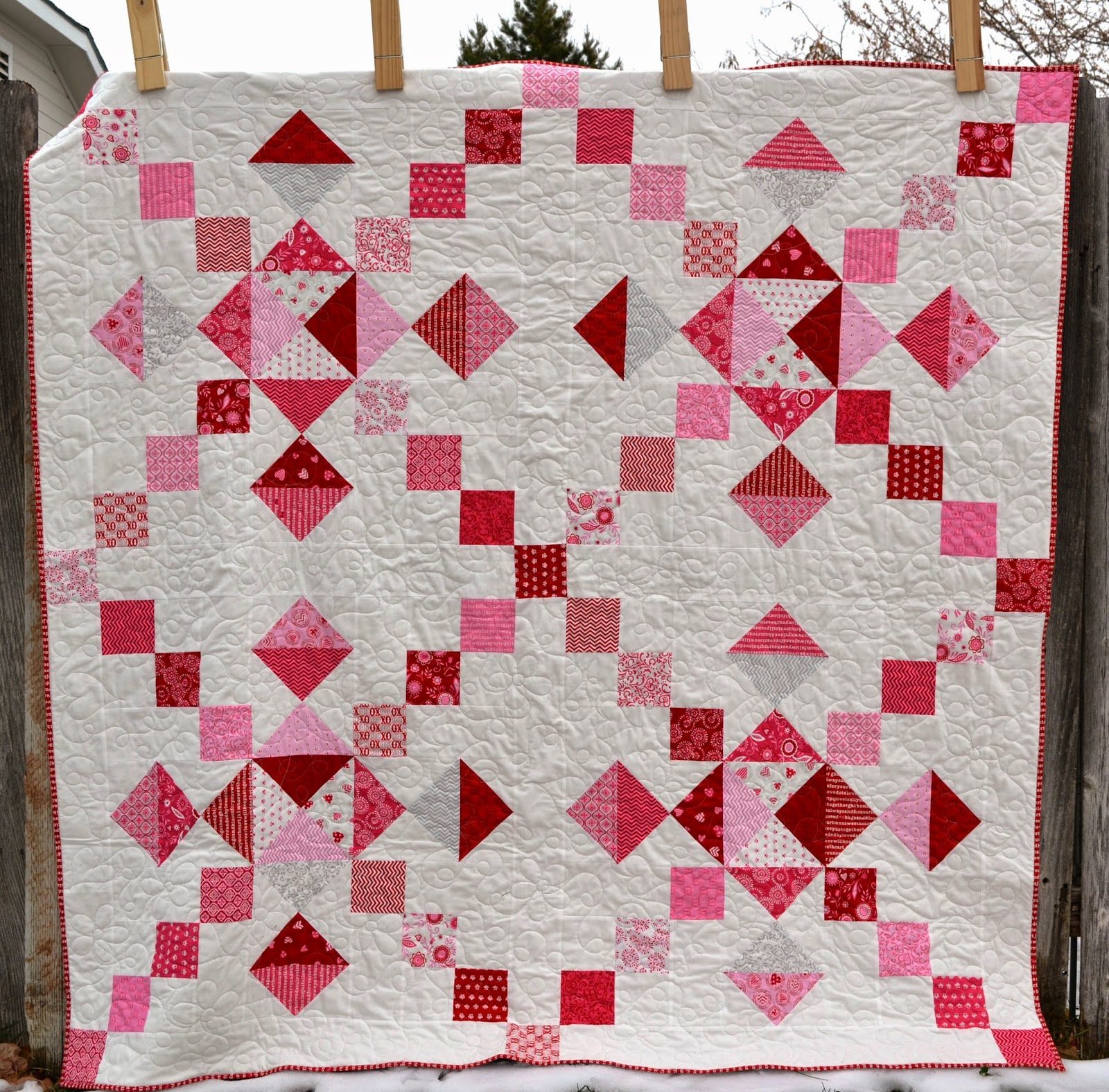 Layer Cake Quilt As You Go : Porch Swing Quilts: Layer Cake Quilts