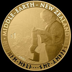 Middle earth coin
