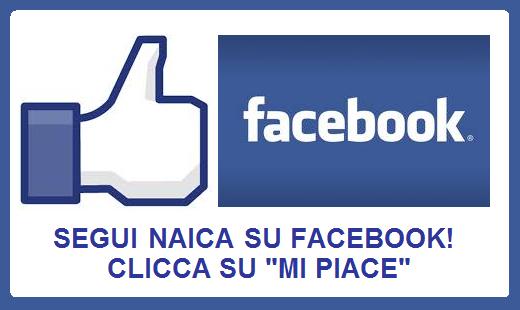 NAICA E' SU FACEBOOK