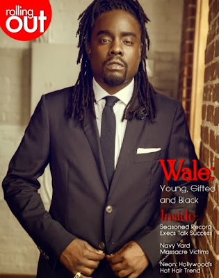 ....But some girls are dumb - Wale On Rolling OUT Magazine