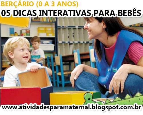 05 brincadeiras interativas para bebês