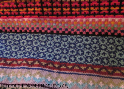 Leisure Arts Fair Isle to Crochet - Crochet Pattern