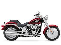 2013 HarleyDavidson FLSTF Softail Fat Boy gambar motor 3
