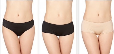 Tanga y shorty negro de Wonderbra