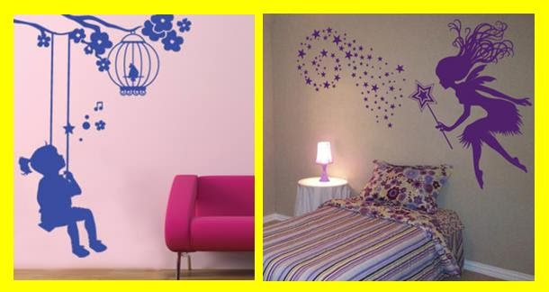 Pixellstick adhesivos decorativos dise o para dormitorios infantiles - Diseno de habitaciones infantiles ...