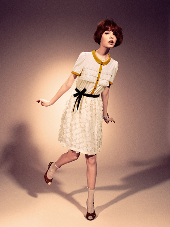 Lazzari's 2012 Spring/Summer collection - 60's fashion styling