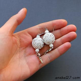 свадебные украшения ручной работы украина серьги купить