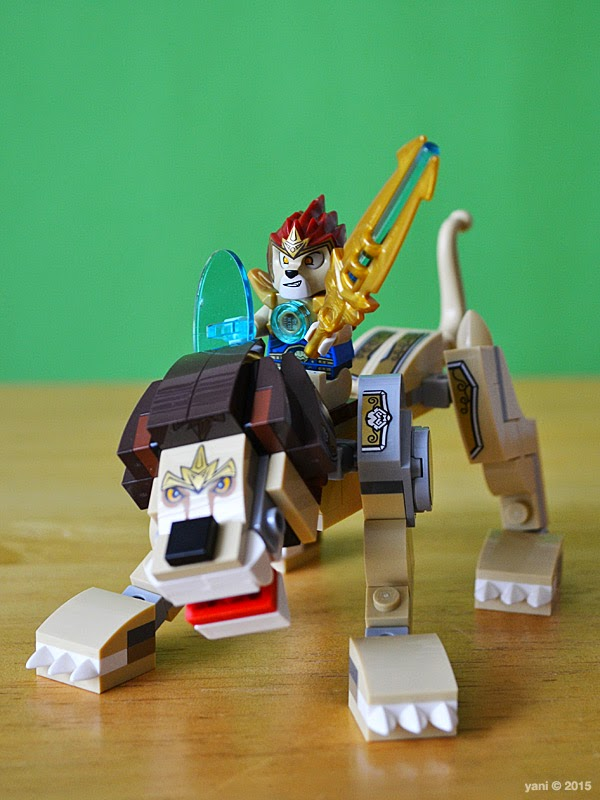 lego chima legend beast lion - laval and the lion