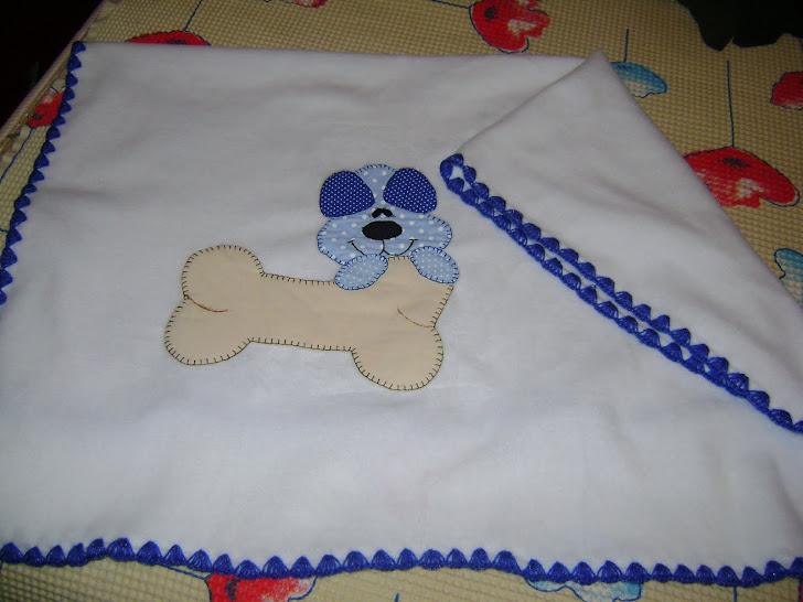 Cobertor bordado